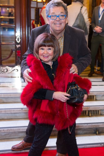 The Krankies at the Opening Night of Cinderella at the London Palladium - Photo credit Craig Sugden