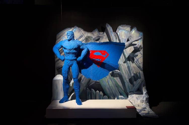The Art of the Brick DC Super Heroes - Superman