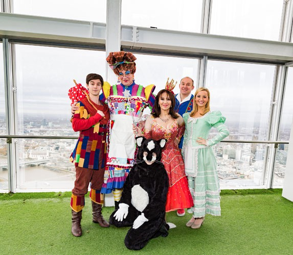 Dick Whittington - at The View From The Shard - Cast credit Darren Bell