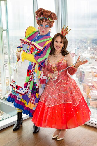 Matthew Kelly and Arlene Phillips at The View From The Shard - Credit Darren Bell_3