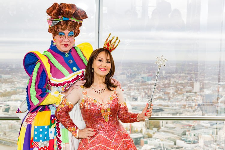 Matthew Kelly and Arlene Phillips - At The View From The Shard_credit Darren Bell_6