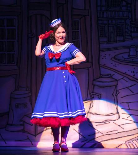 Arlene Phillips as Fairy Bowbells in Dick Whittington - credit Darren Bell