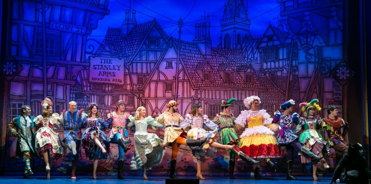 The Cast of Dick Whittington - NWT - Credit Darren Bell