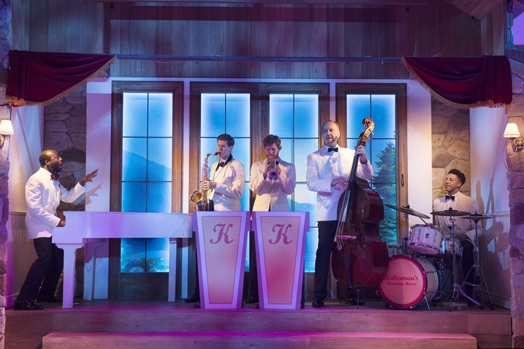 Dirty Dancing – The Classic Story On Stage tour – Band– credid Alastair Muir