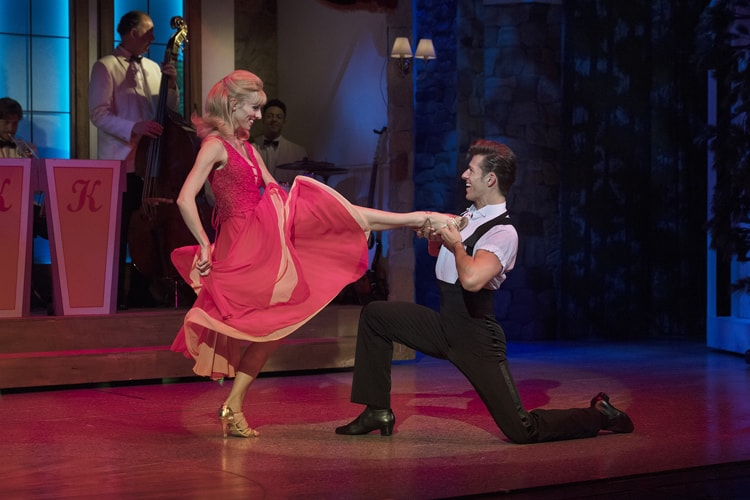 Dirty Dancing – The Classic Story On Stage tour – Carlie Milner & Lewis Griffiths – credit Alastair Muir