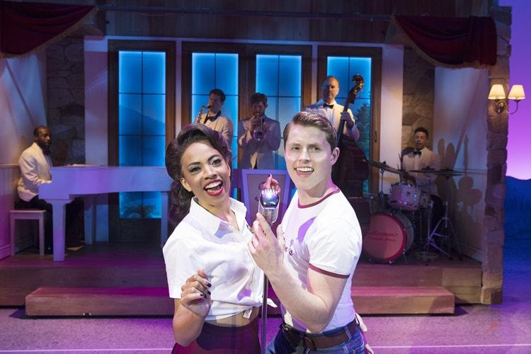 Dirty Dancing – The Classic Story On Stage tour – Daniella Pobega & Michael Kent – credit Alastair Muir