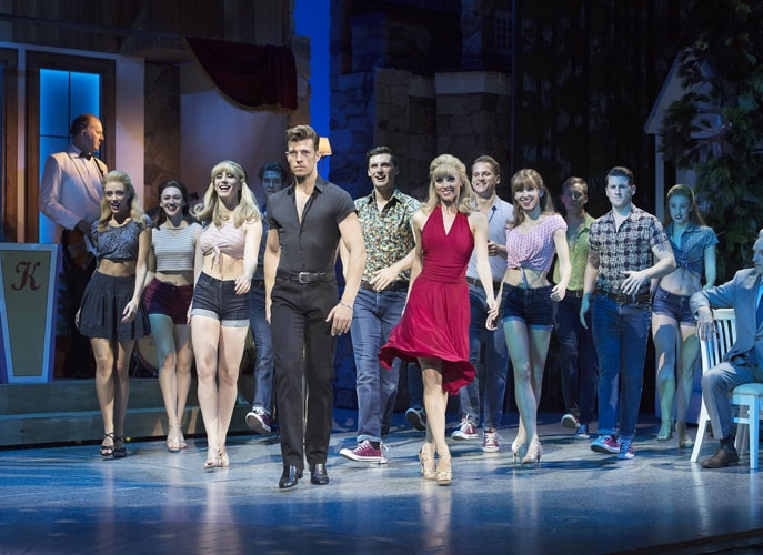 Dirty Dancing – The Classic Story On Stage tour – Ensemble – credit Alastair Muir