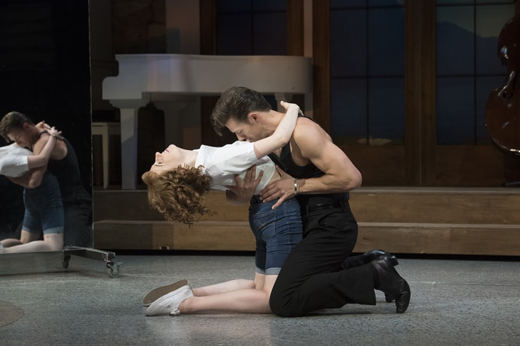 Dirty Dancing – The Classic Story On Stage tour – Katie Harland & Lewis Griffiths – credit Alastair Muir