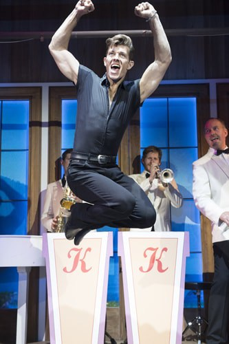 Dirty Dancing – The Classic Story On Stage tour – Lewis Griffiths – credit Alastair Muir