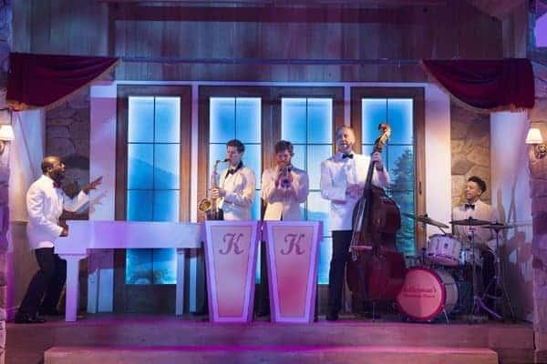 Dirty Dancing tour – Band– c Alastair Muir