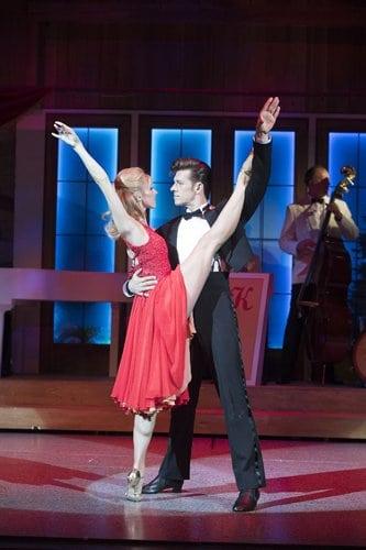 Dirty Dancing tour – Carlie Milner & Lewis Griffiths – c Alastair Muir