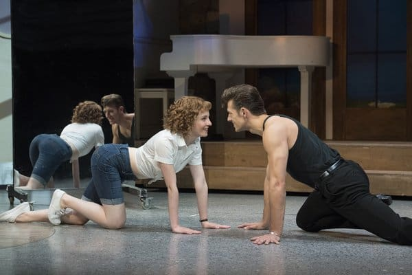 Dirty Dancing tour – Katie Harland & Lewis Griffiths – c Alastair Muir