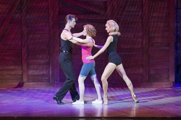 Dirty Dancing tour – Lewis Griffiths, Katie Harland & Carlie Milner – c Alastair Muir -