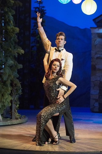 Dirty Dancing tour – Lewis Griffiths & Simone Craddock – c Alastair Muir