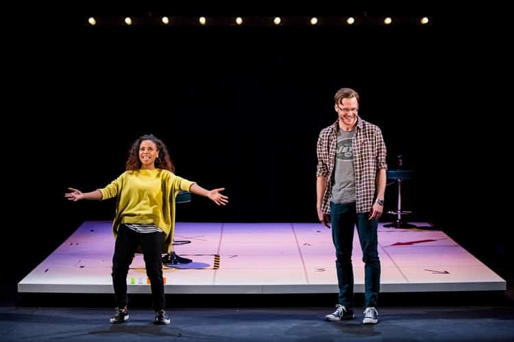 Dirty Great Love Story, Arts Theatre - Ayesha Antoine and Felix Scott, Courtesy of Richard Davenport for The Other Richard