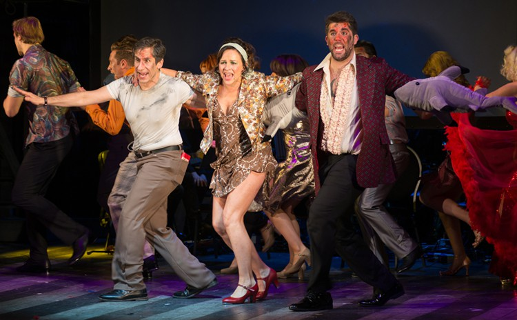 DISASTER! Seth Rudetsky Sally Ann Triplett Simon Lipkin - Photo Jamie Scott-Smith