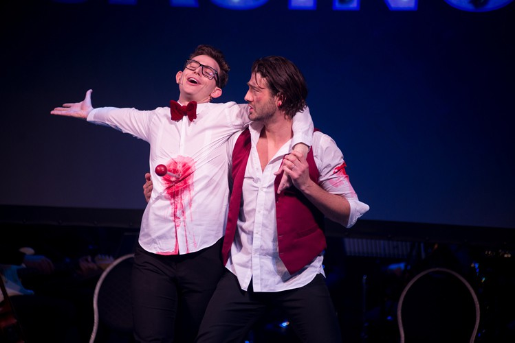 DISASTER!Mark Anderson and Oliver Tompsett - Photo Jamie Scott-Smith