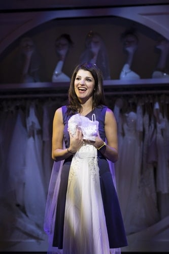 Natalie Anderson for Kay Mellors Fat Friends the-Musical. Photo by Helen Maybanks.