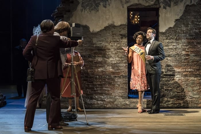 Dawn Hope as Stella Deems and Adrian Grove as Sam Deems in FOLLIES at the National Theatre (c) Johan Persson