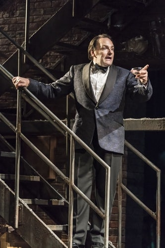 Peter Forbes as Buddy Plummer in FOLLIES at the National Theatre (c) Johan Persson