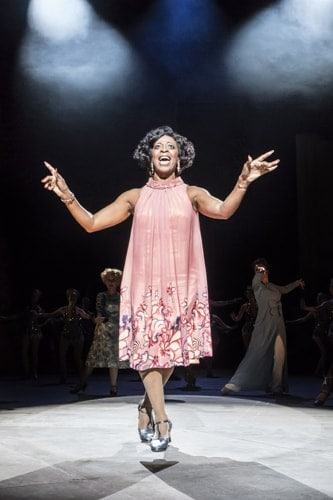 Dawn Hope as Stella Deems in FOLLIES at the National Theatre (c) Johan Persson