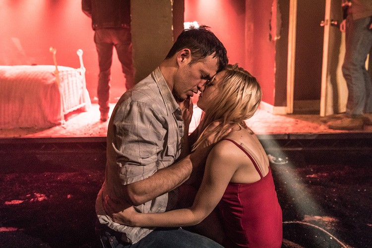 Fool for Love Adam Rothenberg & Lydia Wilson Photo Marc Brenner
