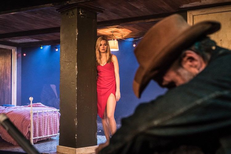 Fool for Love Lydia Wilson & Joe McGann Photo Marc Brenner