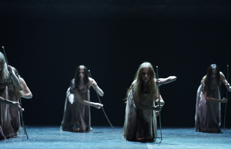 English National Ballet in Akram Khan's Giselle (c) Laurent Liotardo (3)