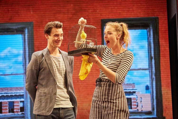 Good Canary-Rose Theatre Kingston- Harry Lloyd (Jack) & Freya Mavor (Annie) Photo Credit Mark Douet