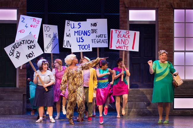 2016 cast of Hairspray. Credit Darren Bell