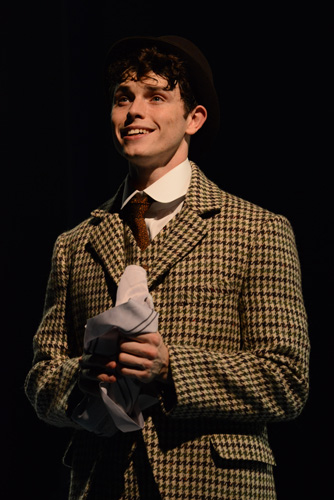 HALF A SIXPENCE Charlie Stemp 'Arthur Kipps'. Photo by Michael Le Poer Trench