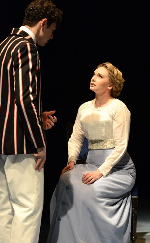 HALF A SIXPENCE Charlie Stemp 'Arthur Kipps' & Emma Williams 'Helen'. Photo by Michael Le Poer Trench