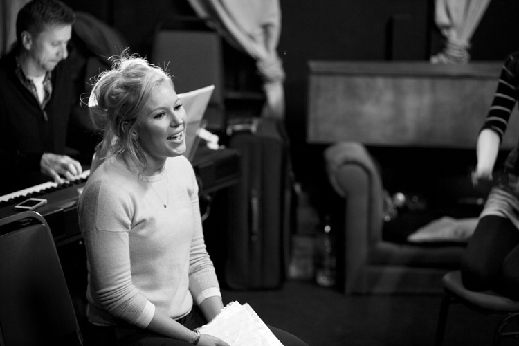 Her Aching Heart rehearsals: Naomi Todd - Credit lhphotoshots