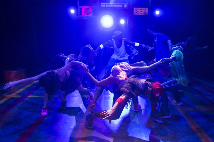 IN THE HEIGHTS. Company. Photo by Johan Persson