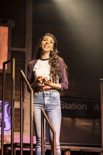 IN THE HEIGHTS. Gabriela Garcia 'Nina'. Photo by Johan Persson