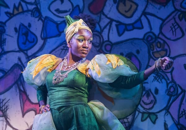 Cherrelle Skeete (Fairy Godmother) in Jack and the Beanstalk, Lyric Hammersmith. Photo by Tristram Kenton