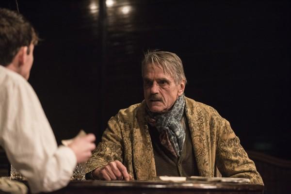 Long Days Journey Into Night Wyndhams Theatre: Jeremy Irons - James Tyrone - Photographer Hugo Glendinning