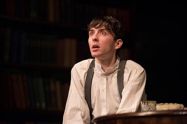 Long Days Journey Into Night Wyndhams Theatre: Matthew Beard Edmund Tyrone - Photographer Hugo Glendinning