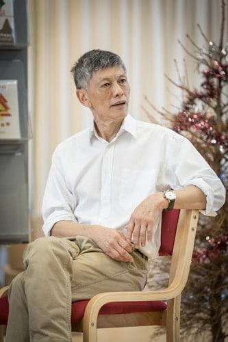 Kwong Loke (Mr Shen) by Marc Brenner