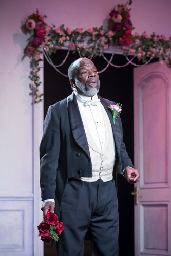 Joseph Marcell as Lord Lorton - Credit Marc Brenner
