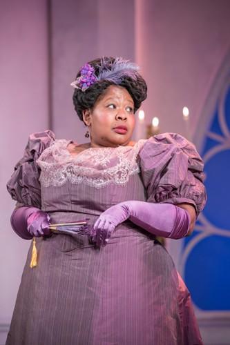 Natasha Magigi as Lady Plymdale - credit Marc Brenner