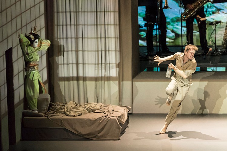 LAZARUS - Julie Yammanee (Maemi), Michael C Hall (Newton) Credit Jan Versweyveld