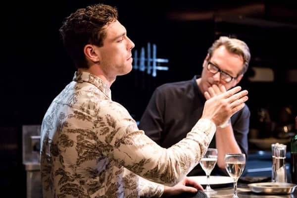 Le Grand Mort - James Nelson-Joyce (Tim) and Julian Clary (Michael) Photo Scott Rylander