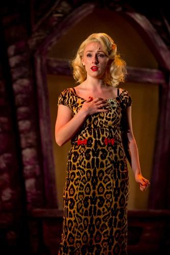 Stephanie Clift as Audrey in Little Shop of Horrors. Photo Credit Matt Martin