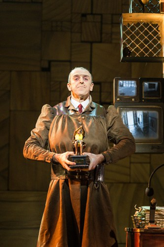 Royal Shakespeare Company's production of Matilda The Musical Craige Els (Miss Trunchbull) Credit Manuel Harlan