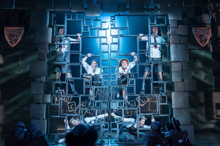 matilda the musical new production photos