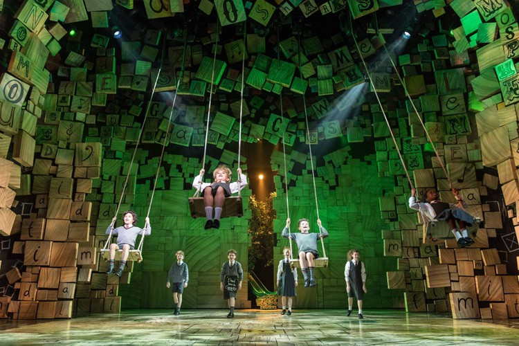 Royal Shakespeare Company's production of Matilda The Musical Credit Manuel Harlan