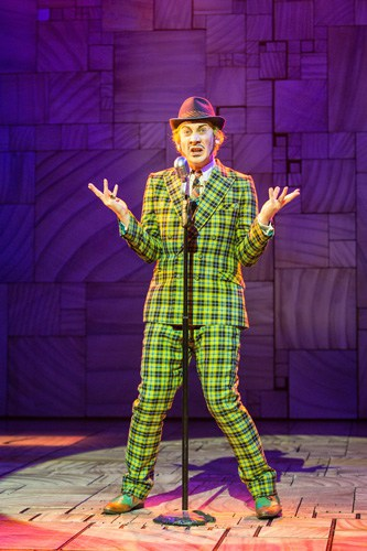 Royal Shakespeare Company's production of Matilda The Musical Michael Begley (Mr Wormwood) Credit Manuel Harlan