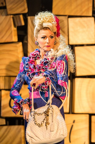 Royal Shakespeare Company's production of Matilda The Musical Rebecca Thornhill (Mrs Wormwood) Credit Manuel Harlan