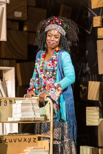 Royal Shakespeare Company's production of Matilda The Musical Sharlene Whyte (Mrs Phelps) Credit Manuel Harlan